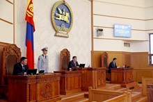 The 2017 fall session of the State Great Hural (Parliament) of Mongolia commences