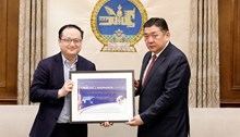 Mongolia launches its first co-branded satellite