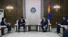 Prime Minister U.Khurelsukh presents the bill to authorize his Cabinet members